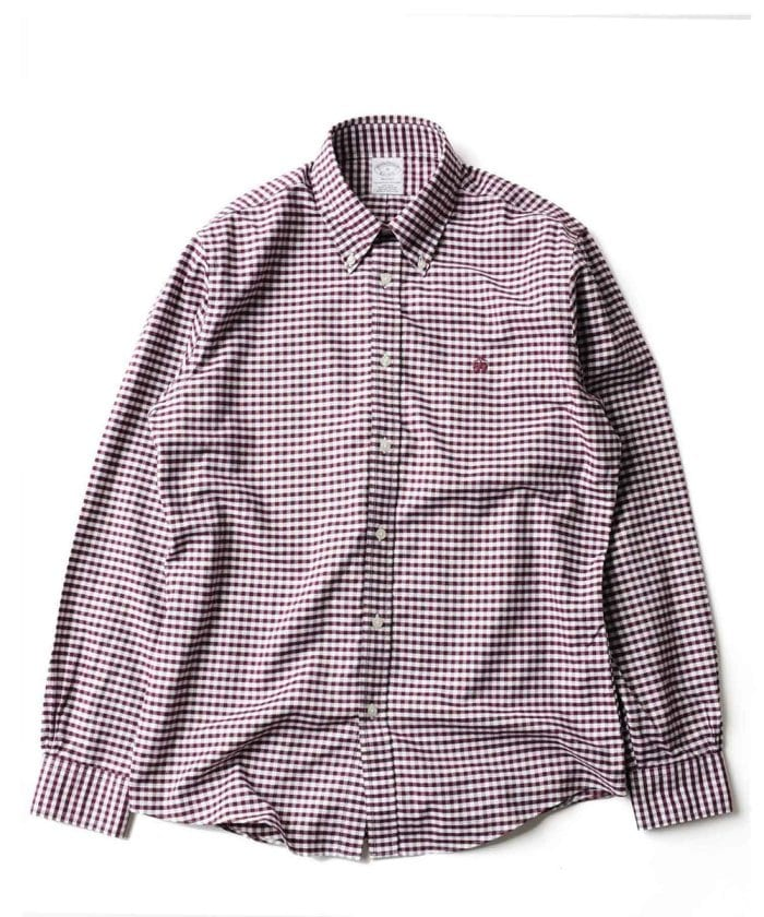 Brooks Brothers Regent Fit Gingham Sport Shirt
