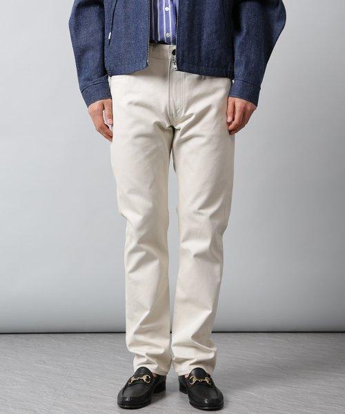 Pique Pants 14155400010: Off White