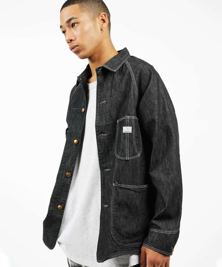 orSlow 50s Coverall 03-6140: Black